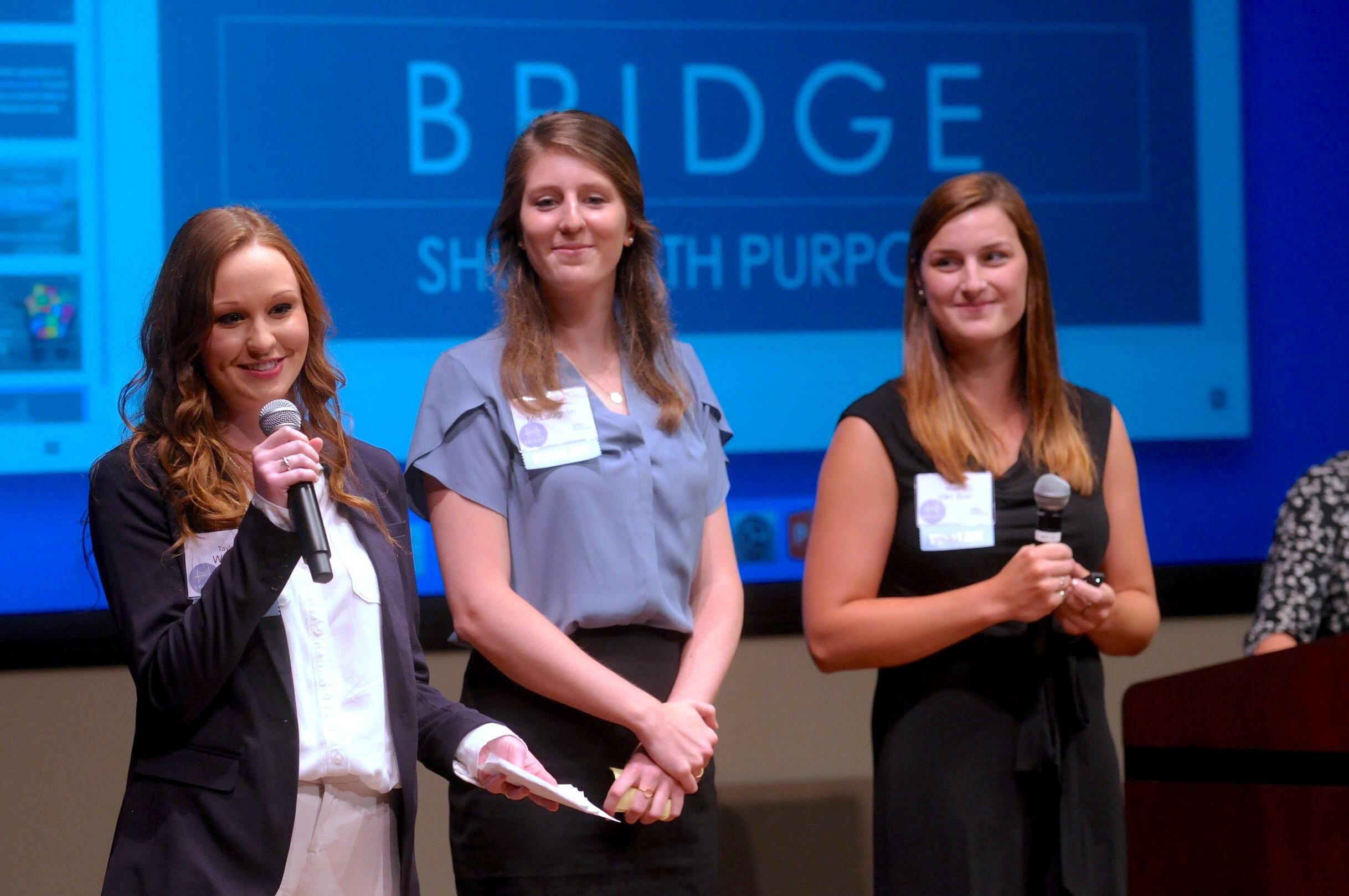 Bridge students at the Global Social Innovation Challenge